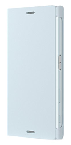 Sony 1304-4673 Etui avec Support pour Sony Xperia X Compact Bleu Brume