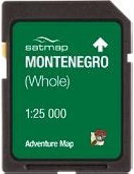 Satmap mapcard: Montenegro Adventure Karte 25K