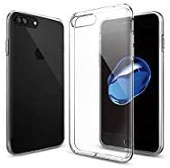 Spigen [Liquid Crystal] iPhone 8 PLUS/7 PLUS Hülle (043CS20479) Transparent TPU Silikon Handyhülle Kratzfest Durchsichtige Schutzhülle Flex Case (Crystal Clear)