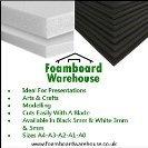 Foam Board A2 (594mm x 420mm) White Moutning 5mm Thick Foamex Foam Sign Display Model Foamboard Backdrop Craft (10 Sheet Foamboard …A2 White Foamboard 5mm 420 x 594mm Packed
