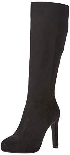 Buffalo Damen Fedora Hohe Stiefel, Schwarz (Black 001), 39 EU