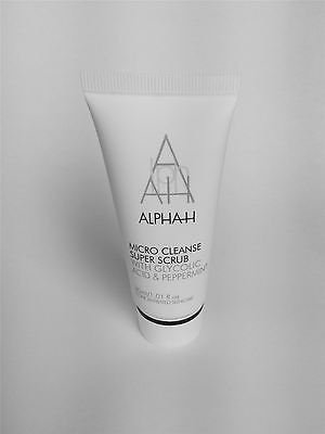 Alpha H Micro Cleanse Super Scrub with glycolic acid &