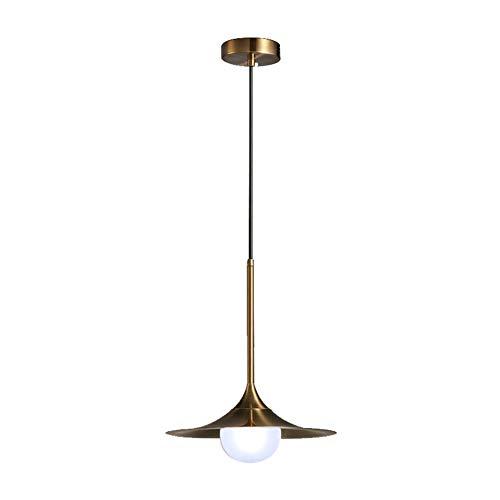 Moderne Led Kronleuchter-Gold Kronleuchter Deckenleuchten Restaurants Und Küchen, Eisen Kunst Shade G4 Sockel Einfache Schlafzimmer Bar Cafe, Gold ()