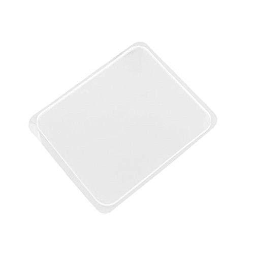 Skxinn 20 Pcs Super Sticky Gripping Pad Clear Anti Slip Pads Kitchen Car Holder Super Easy Gripping Pad Ausverkauf (Weiß)