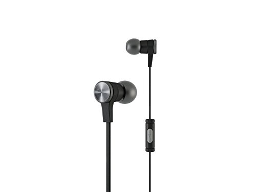 Micromax A60 Compatible In the Earphone, headphone, Handfree, Headset WIth Mic, Music, calling, and genuine high quality wired with 3.5mm Jack And certified brilliant bass Music Equalizer - ( black)) by STACKCART