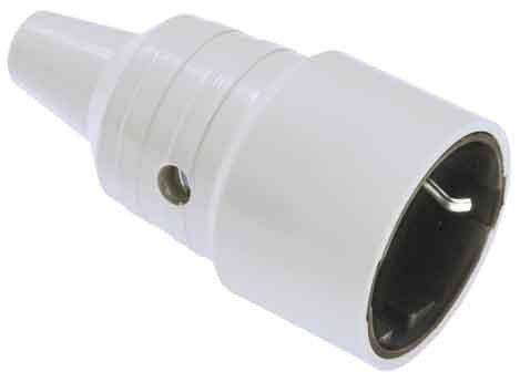 Bachmann Kupplung Schutzkontakt PVC, 912971 (Kupplung)