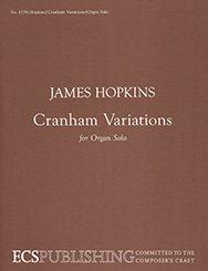 Cranham Variations - Orgel - Buch