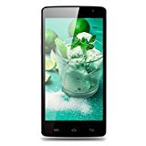 Ulefone Be Pure Lite 5.0'' Zoll 3G Smartphone Android 6.0 IPS HD Display Quad Core 1.3GHz Dual SIM Handy ohne Vertrag 1GB RAM+8GB ROM 8.0MP + 2.0MP Dual Kamera GPS WIFI Schwarz