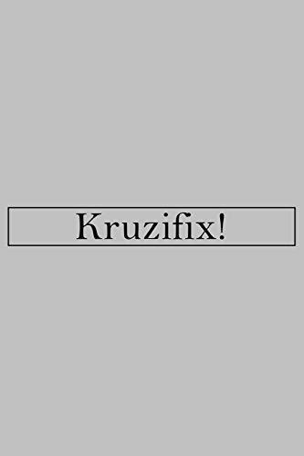 """Kruzifix: Notizbuch 6""""x9"""" / 120 Seiten / punktkariert / Bullet Journal / Dot Grid"""