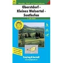 WK 363 Oberstdorf, Kleines Walsertal, Sonthofen 1 : 50 000 (Hiking Maps of the Austrian Alps)