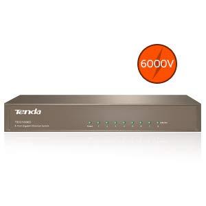 Tenda TEG1008D Switch conmutador Red 8 Puertos Gigabit
