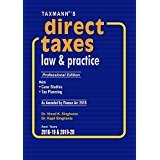 Direct Taxes Law & Practice (Professional Edition)(As Amended by Finance Act 2018)