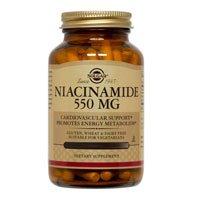 Solgar Niacinamide 550 mg Vegetable Capsules