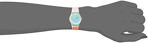 Swatch Damen Armbanduhr Digital Quarz Silikon LW146 - 4
