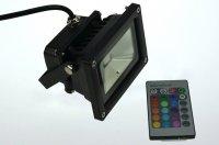 VWA LED Flutlichtstrahler Outdoor RGB von VWA Deutschland - Lampenhans.de