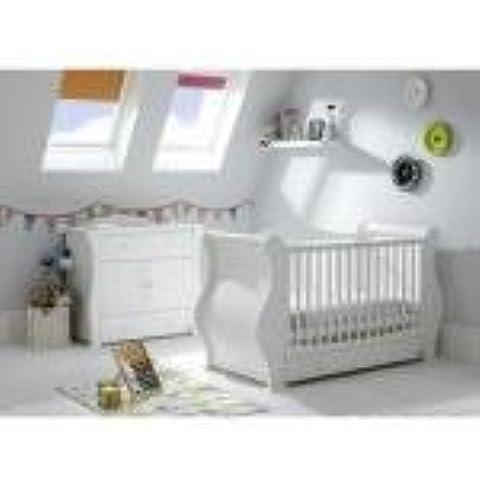 Tutti Bambini Marie 6pezzi Nursery Room Set in Bianco