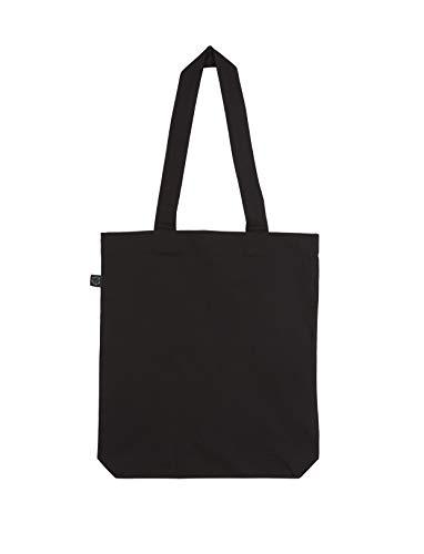 T-Shirt Laden Baumwolltasche mit persönlichem Motiv Bedrucken (persönliche Fototasse mit eigenem Bild und Text) Materialzusammensetzung: 100% Biobaumwolle (schwarz)