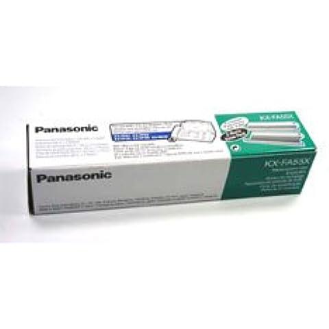 Panasonic KX-FA55X - Pellicola a trasferimento termico, in materiale di consumo, circa 2x 140 (Trasferimento Termico Materiale)