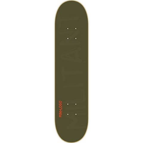 Mini Logo Skateboard Deck 127/K-12 - 8.0 Green by Mini-Logo