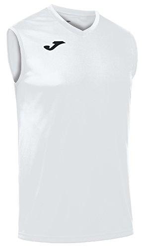 Joma, Camiseta combi hombre, Blanco/200, M