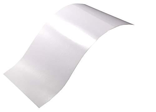 Neoxxim 3,77€/m² - Plotterfolie Glanz 1 - Weiss - 30 x 106 cm -Plotter Folie Möbelfolie matt oder Glanz viele Farben Größen wählbar
