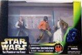 Star Wars - Power of the Force (POTF) - Cinema Scene - Cantina Showdown - 3- Pack : DR. EVAZAN, PONDA BABA, OBI-WAN-KENOBI - Hasbro/Kenner