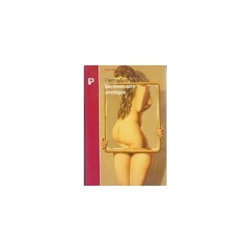 Dictionnaire érotique