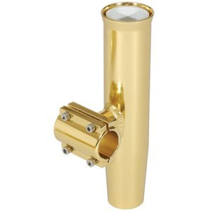 Lee's Clamp-On Rod Holder - Gold Aluminum - Horizontal Mount - Fits 2.375
