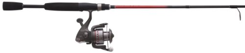 Quantum Optix Spinning Combo Optix Angelrolle mit 6 '6 Light 2 Stück Rod Angeln -