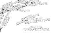 Confettis de table Joyeux Anniversaire argentés 3660667046055