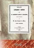 Ensayos literarios y críticos. Tomo I (Literatura)