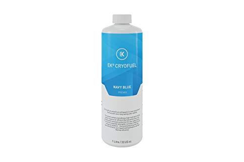 EK Water Blocks 3831109813270 - EK-CryoFuel Navy Blue Premix Fluid - 1 Litre -