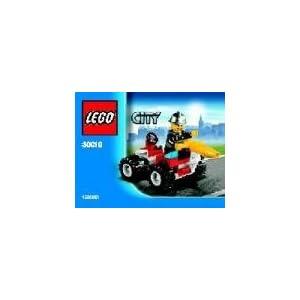 LEGO 30010 City - Pompiere con Veicolo e Borsa da 31 Pezzi 0673419138642 LEGO