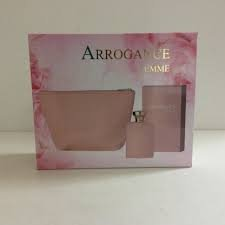 ARROGANCE Confezione regalo femme edt 100ml. +body lotion+mini bag