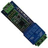 DSD TECH Modulo di relè Bluetooth 12V per interruttore di controllo remoto Compatibile con iPhone e Android 4.3
