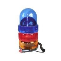 Rundumleuchte Rundumlampe 12V Orange Blau Rot Warnleuchte Blinkleuchte 25 Watt