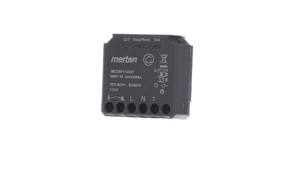 Merten Wiser Schaltaktor MEG5011-0001 Bussystem-Schaltaktor Wiser