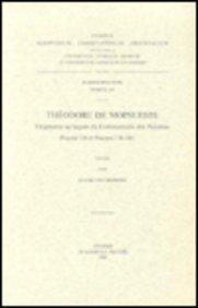 Theodore De Mopsueste. Fragments Syriaques Du Commentaire Des Psaumes Psaume 118 Et Psaumes 138-148. Syr. 189. par L Van Rompay