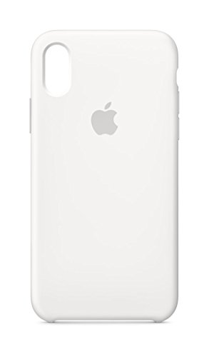Apple Funda Silicone Case (para el iPhone X) - Blanco