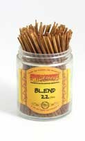Blend 22 - Wild Berry Shorties Incense Sticks - 100 by Wild Berry (Berry Blend-stick)