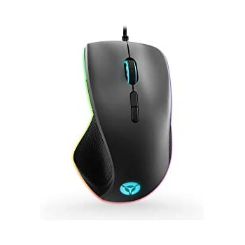 Lenovo Legion M500 RGB Gaming Mouse, (Black with Iron Grey Cover)