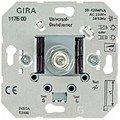Gira Universal-Dimmer-Einsatz mit Druck-Drehschalter 2, 0117600 von Gira bei Lampenhans.de