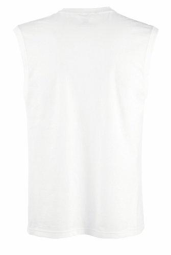 Fruit of the Loom T-Shirt ohne Ärmel 61-222-0 Blanc - Blanc