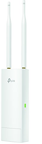 TP-Link EAP110-Outdoor N300 Wireless Outdoor Access Point (wasserdicht, ideal für Garten Wi-Fi, Unterstützung Passive PoE, Flexible Installation und einfache Verwaltung)