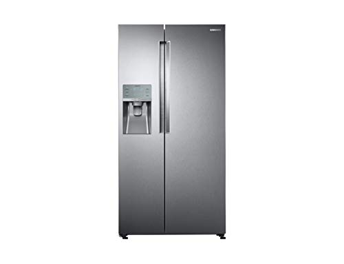 Samsung RS58K6688SL Freestanding 575L A++ Silver side-by-side refrigerator - Side-By-Side Fridge-Freezers (Freestanding, Silver, American door, LED, R600a, Glass)