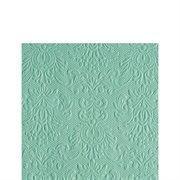Ambiente - Cocktail Servietten - Elegance - geprägt - 25x25cm - 15 Stück - verschiedenen Farben (Pale Aqua 1110) (Elegance 3 Stück)