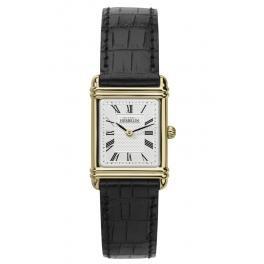Michel Herbelin Unisex Erwachsene Analog Uhr mit Leder Armband 17478/P08