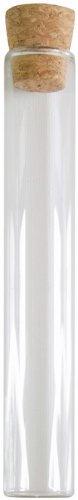 SANTEX 2968-0-15, Lot de 48 éprouvettes en verre transparent - 15 cm