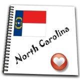 3dRose db_7201_1 I Love North Carolina-D...