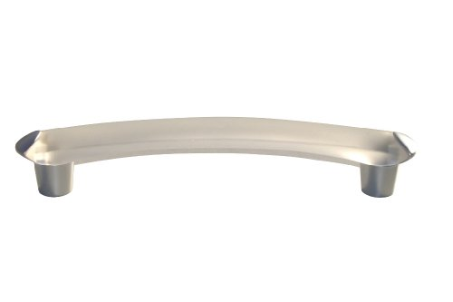 1-x-frosted-translucent-128mm-handle-with-brushed-chrome-effect-ends